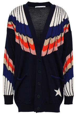STELLA McCARTNEY Intarsia wool cardigan