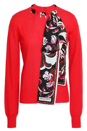 EMILIO PUCCI Embellished wool sweater