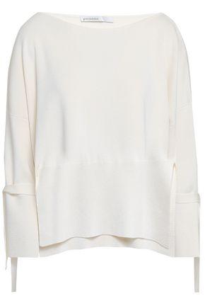 GENTRYPORTOFINO Silk and cotton-blend sweater