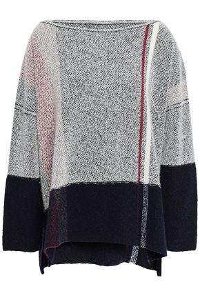 GENTRYPORTOFINO Intarsia cashmere-blend sweater