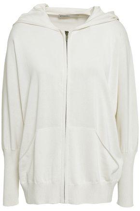 GENTRYPORTOFINO Silk and cotton-blend hooded jacket