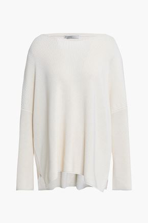 GENTRYPORTOFINO Silk and cotton-blend sweater