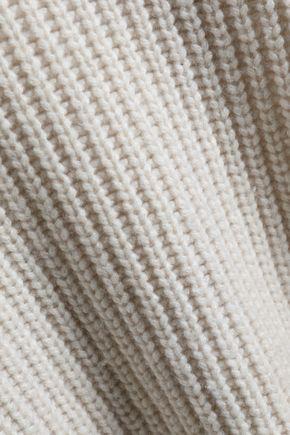 GENTRYPORTOFINO Ribbed cashmere sweater