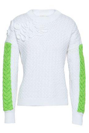 DELPOZO | Delpozo Woman Cotton Sweater White | Goxip