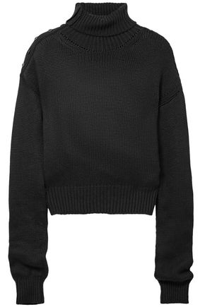 ADEAM Cotton-blend turtleneck sweater