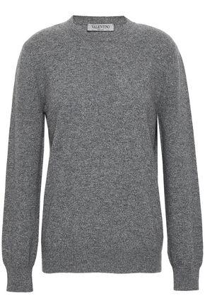VALENTINO GARAVANI Intarsia cashmere sweater