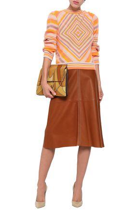 VALENTINO Striped cashmere sweater