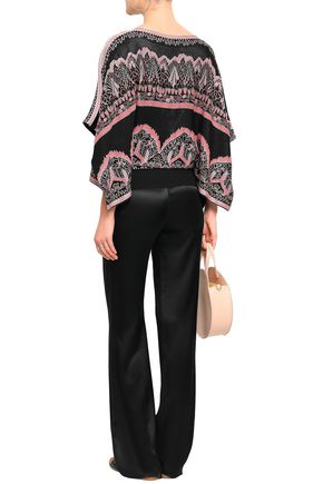 VALENTINO Jacquard-knit sweater