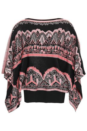VALENTINO Jacquard-knit sweater
