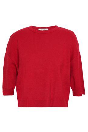 VALENTINO GARAVANI Cropped cashmere sweater