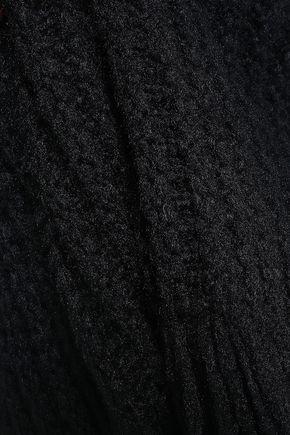 ヴァレンティノ フリンジ付き シルク ポンチョ