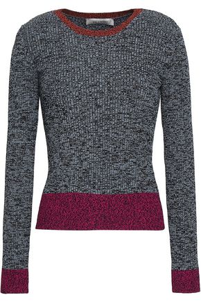 VALENTINO Marled knitted sweater