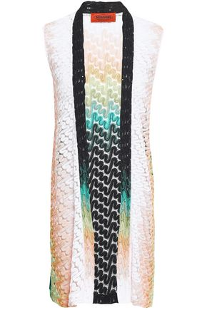 MISSONI Crochet-knit vest