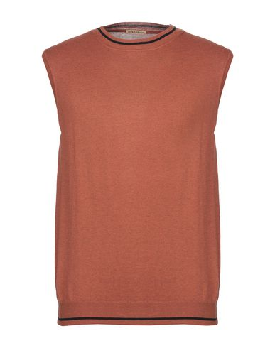Фото - Мужской свитер HISTORIC ржаво-коричневого цвета
