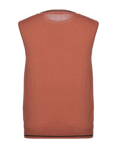 Фото 2 - Мужской свитер HISTORIC ржаво-коричневого цвета