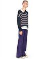 LANVIN Knitwear & Sweaters Man STRIPED V-NECK SWEATER    f