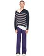 LANVIN Knitwear & Jumpers Man STRIPED V-NECK SWEATER    f