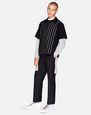 LANVIN Knitwear & Sweaters Man STRIPED POLO   f