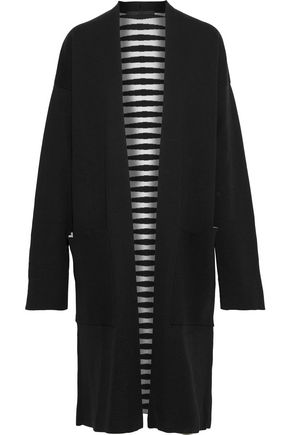 HAIDER ACKERMANN Wool and silk-blend jacquard cardigan