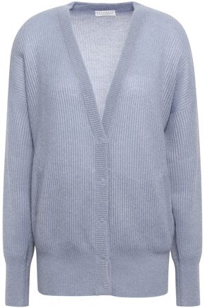 BRUNELLO CUCINELLI Ribbed-knit cardigan