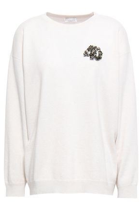 BRUNELLO CUCINELLI Embellished cashmere sweater