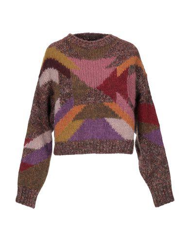 Фото - Женский свитер  коричневого цвета