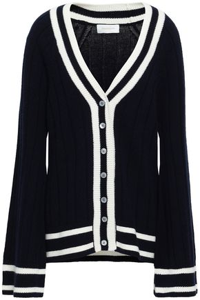 ZIMMERMANN Intarsia wool and cashmere-blend cardigan