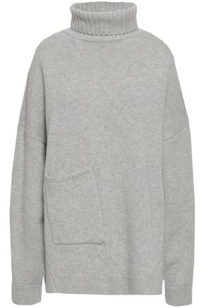 TIBI Mélange cashmere turtleneck sweater