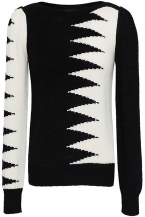 MARC JACOBS Intarsia-knit sweater