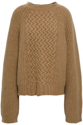 HAIDER ACKERMANN Wool and angora-blend sweater