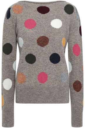 MARC JACOBS Intarsia wool sweater