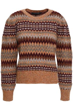 MARC JACOBS Wool-blend jacquard sweater
