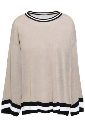 BRUNELLO CUCINELLI Linen-blend sweater
