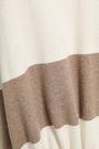 BRUNELLO CUCINELLI ストライプ ウール&カシミヤ&シルク混 セーター