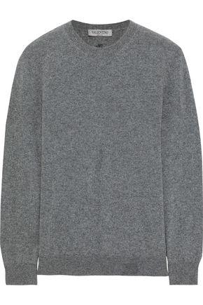 VALENTINO Intarsia cashmere sweater