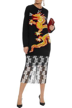 VALENTINO Intarsia wool sweater