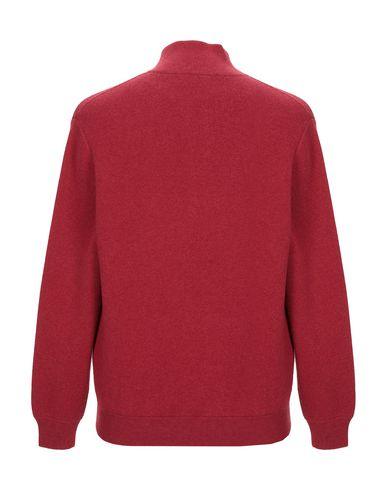 Фото 2 - Мужской кардиган  кирпично-красного цвета