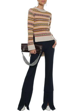 STELLA McCARTNEY Intarsia wool sweater