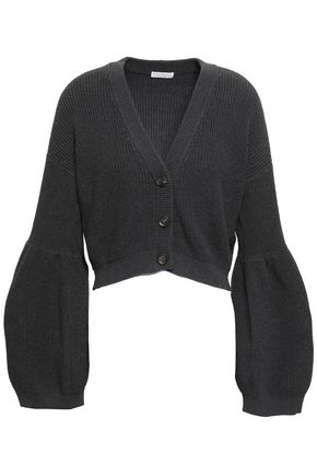 BRUNELLO CUCINELLI Cropped cotton cardigan