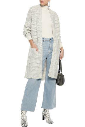 LINE Crochet-knit cardigan