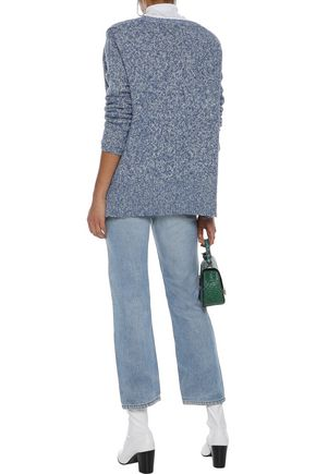 LINE Eve marled cotton-blend sweater