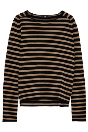 LINE Jackie striped cashmere sweater