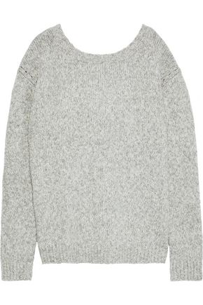 LINE Beverly marled cotton-blend sweater