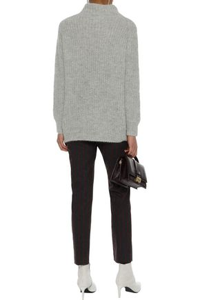 LINE Alpaca-blend turtleneck sweater