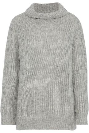 LINE Alpaca-blend turtleneck sweater