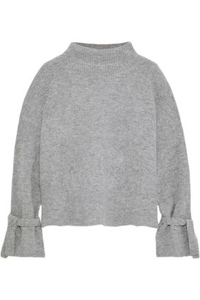 LINE Fluted ribbed-knit sweater