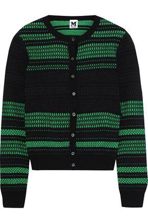 M MISSONI Metallic jacquard-knit cardigan