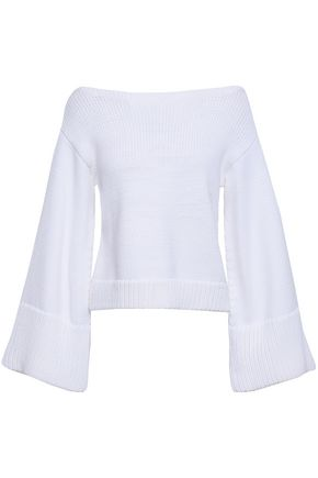 MILLY Cotton-blend sweater