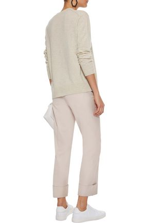VINCE. Lace-up cashmere sweater