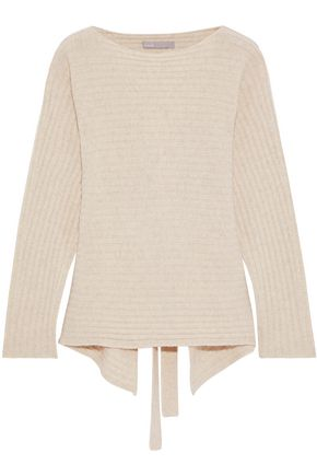 38559e2493c VINCE. Cutout ribbed wool and cashmere-blend sweater ...